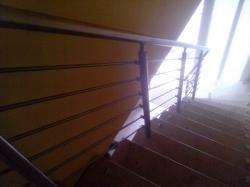 Treppengeländer Edelstahl = V2A/Werkstoff 1.4301 = AIS/304(intern.)